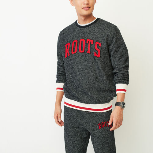 Roots-Men Our Favourite New Arrivals-Roots Cabin Crew Sweatshirt-Black Pepper-A