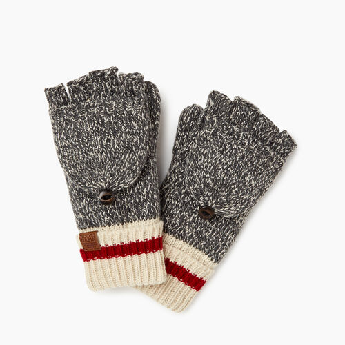 Roots-Kids Our Favourite New Arrivals-Kids Cabin Flip Mitt-Grey Oat Mix-A
