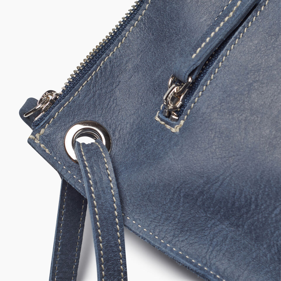 Roots-Leather New Arrivals-Festival Bag-Navy-F