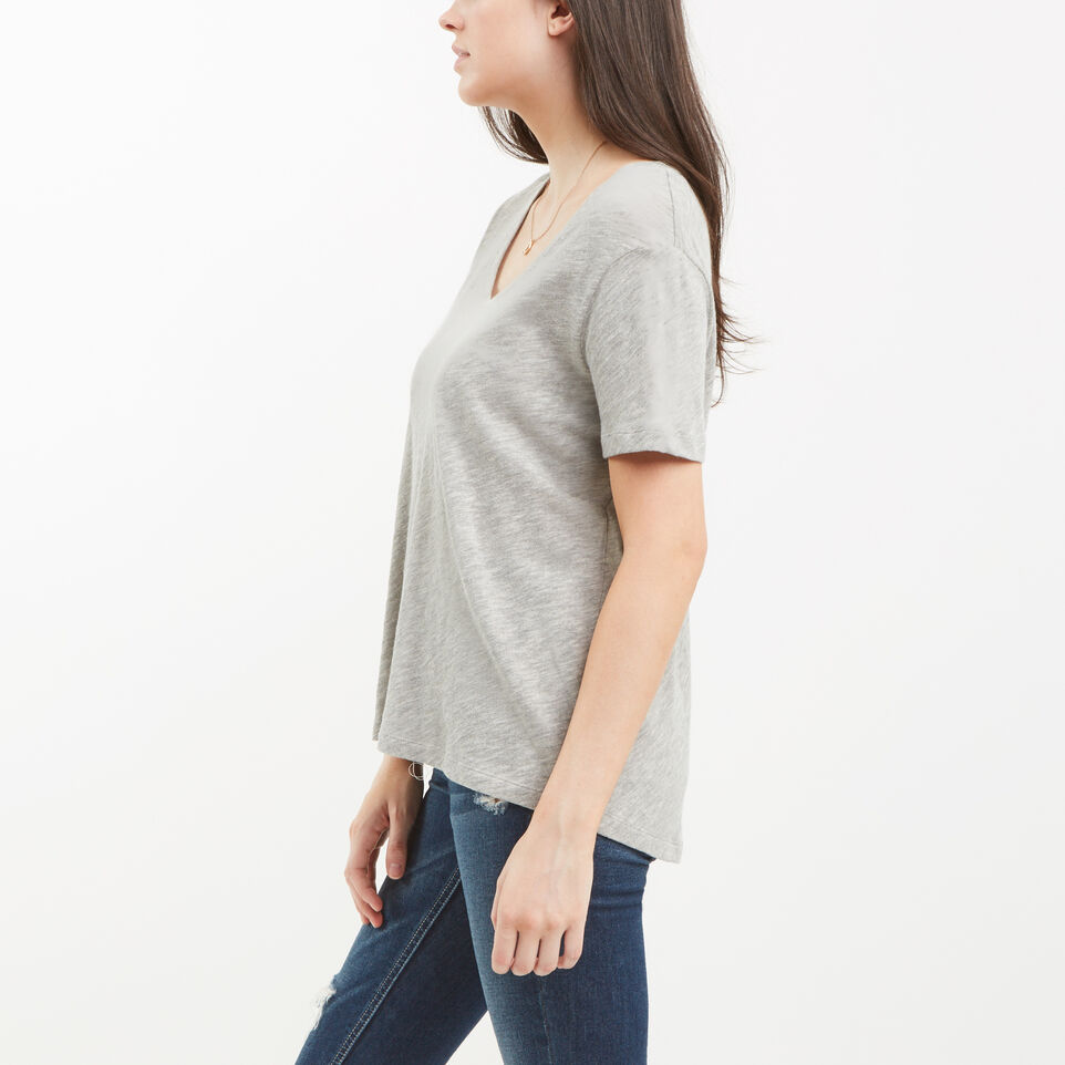 Roots-undefined-Ruby V Neck Top-undefined-C