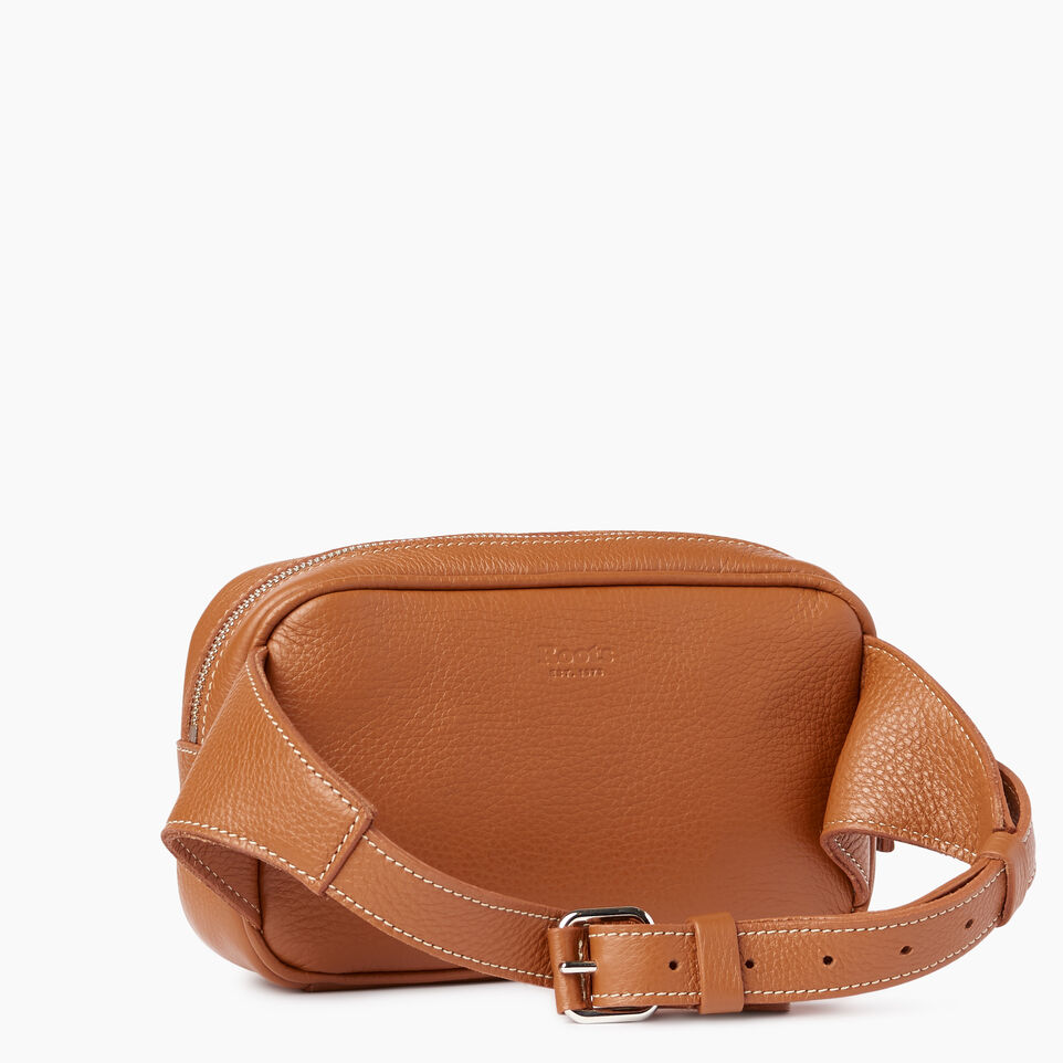 Roots-Leather Our Favourite New Arrivals-Roots Belt Bag-Caramel-C