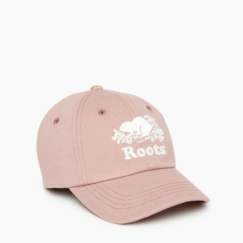 Roots-Kids Our Favourite New Arrivals-Toddler Cooper Baseball Cap-Deauville Mauve-A