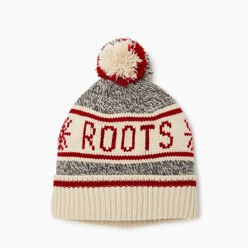 Roots-Sale Kids-Kids Cabin Toque-Grey Oat Mix-A