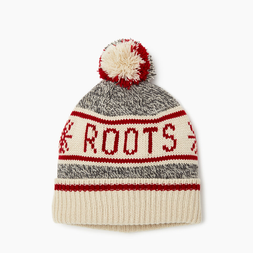 Roots-Kids Boys-Kids Cabin Toque-Grey Oat Mix-A