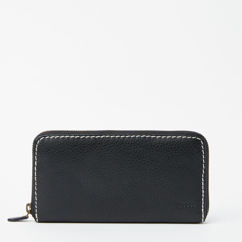 Roots-undefined-Zip Around Clutch-undefined-A