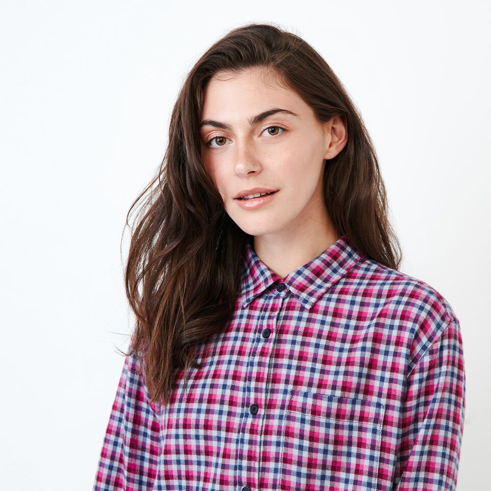 Roots-undefined-Relaxed Flannel Shirt-undefined-E