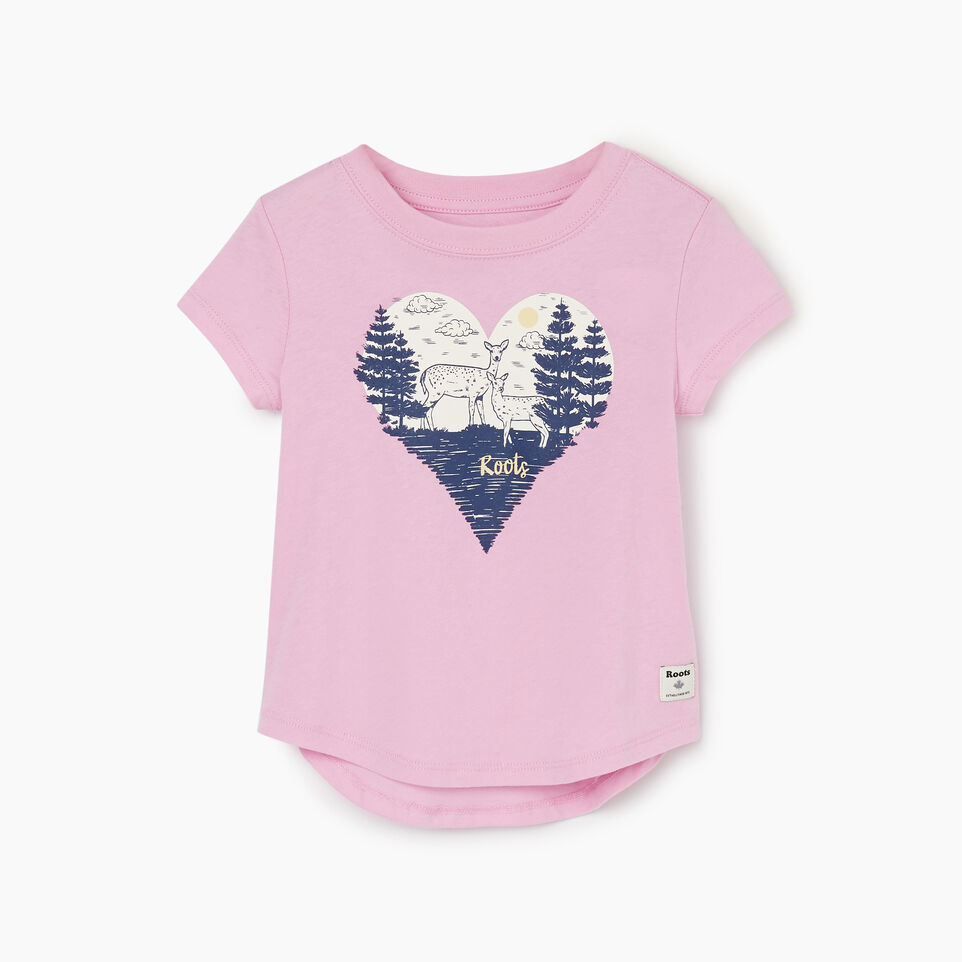Roots-Kids Tops-Toddler Life Is Better T-shirt-Pastel Lavender-A