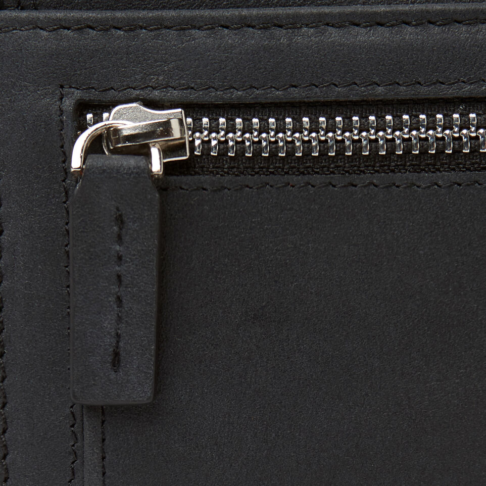 Roots-Leather Categories-Canmore Wallet Tribe-Jet Black-E