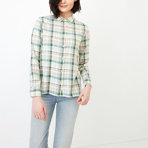Roots-Women Clothing-All Seasons Relaxed Shirt-Spray-A