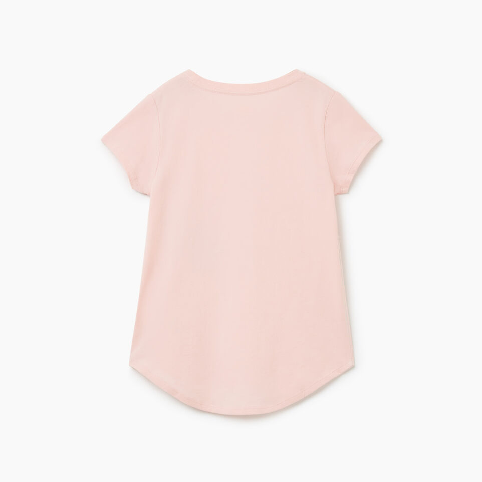 Roots-undefined-T-shirt Animal pour filles-undefined-B