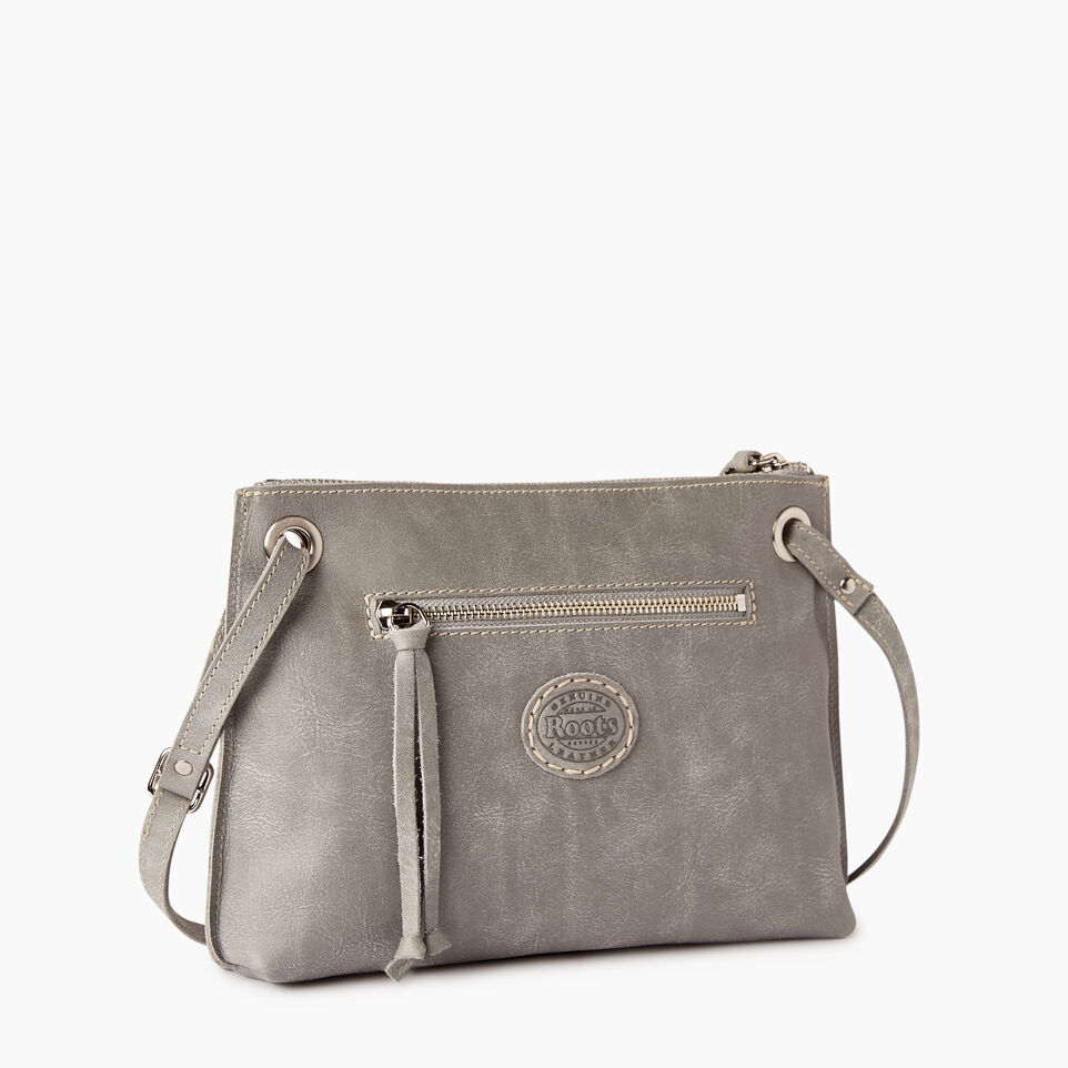Roots-Leather  Handcrafted By Us Collections-Edie Bag-Quartz-C