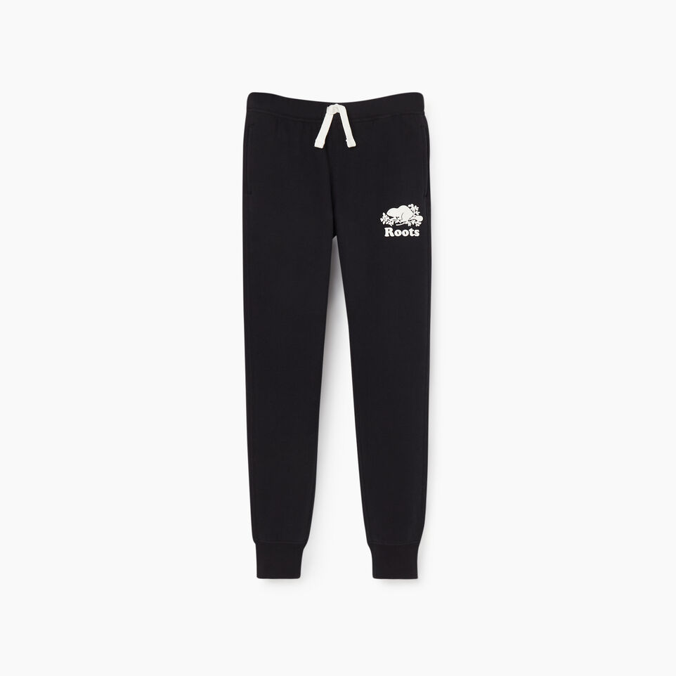 Roots-undefined-Girls Slim Cuff Sweatpant-undefined-A