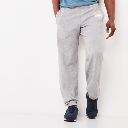 Roots-Men Original Sweatpants-Classic Relaxed Sweatpant-Grey Mix-A