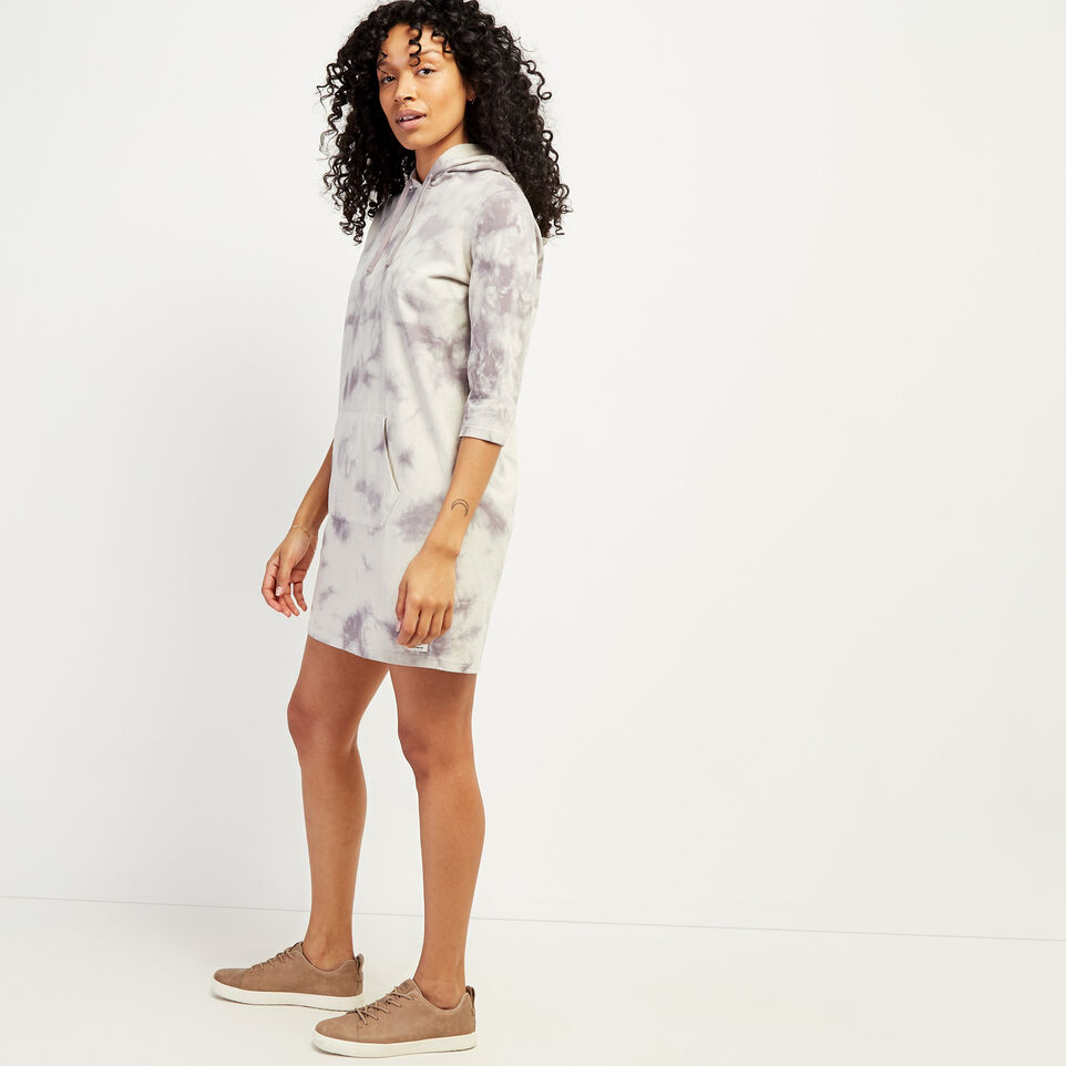 Roots-undefined-Eramosa Hooded T-shirt Dress-undefined-C