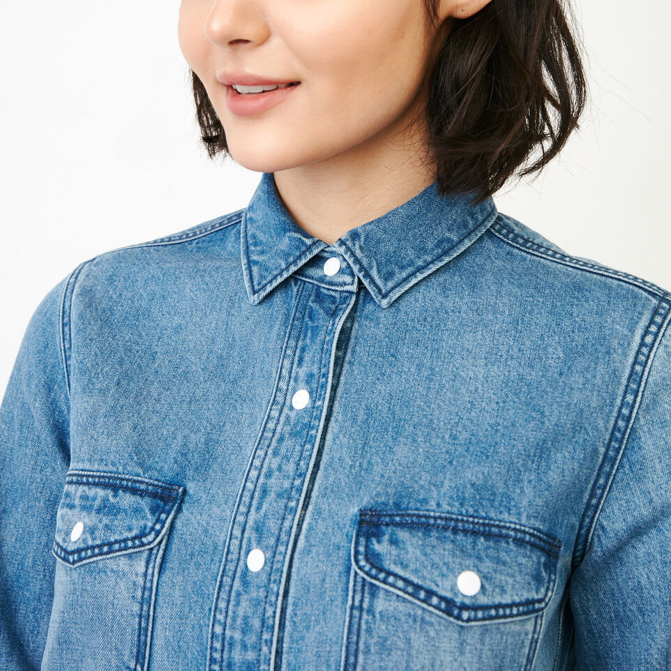 Roots-undefined-Scout Denim Shirt-undefined-E