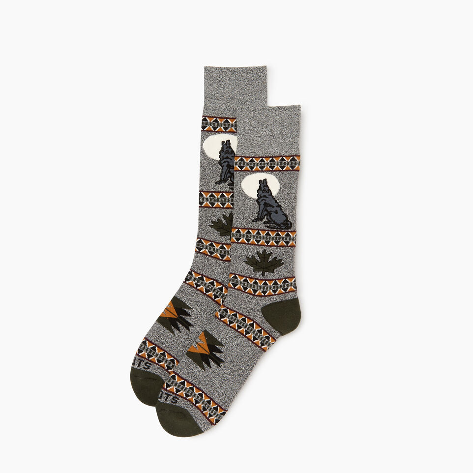 Roots-undefined-Wilderness Boot Sock-undefined-A