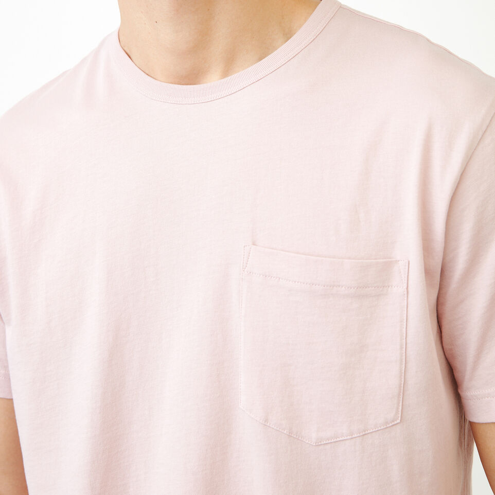 Roots-Men Our Favourite New Arrivals-Essential Pocket T-shirt-Burnished Lilac-E