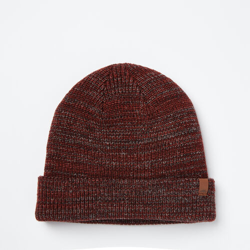 Roots-Clearance Last Chance-Hamilton Toque-Crimson Mix-A