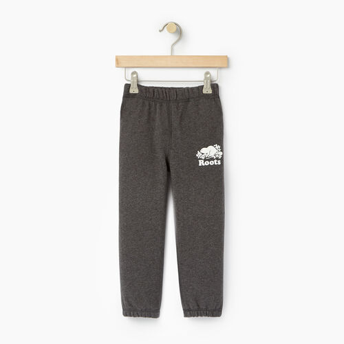 Roots-Clearance Kids-Toddler Original Sweatpant-Charcoal Mix-A