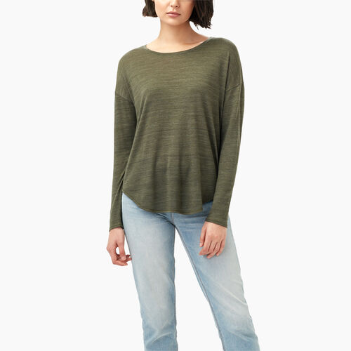 Roots-Black Friday Deals Tops-Hazen Top-Ivy Green Mix-A