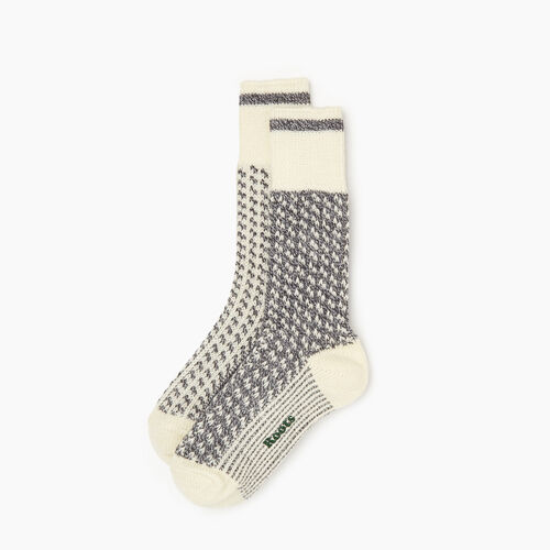 Roots-Women Socks-Roots Cabin 3 Point Sock 2 Pack-Grey Mix-A