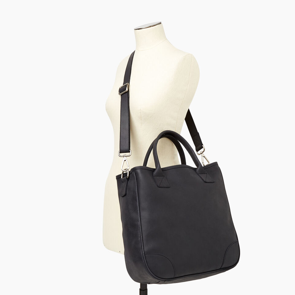 Roots-Leather Our Favourite New Arrivals-Jasper Tote-Jet Black-B
