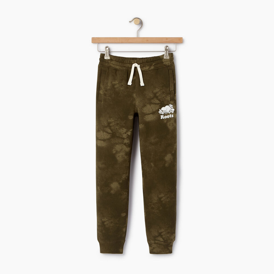 Roots-Kids Our Favourite New Arrivals-Boys Cloud Nine Sweatpant-Winter Moss Green-A