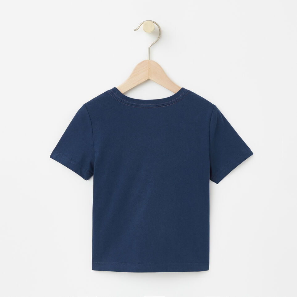Roots-undefined-Tout-Petits T-shirt RBA Phosphorescent-undefined-B