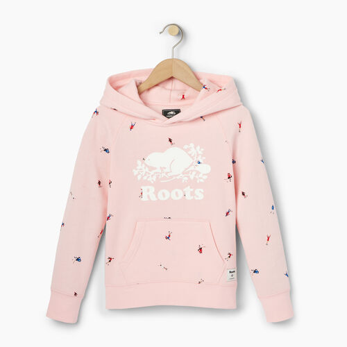 Roots-Kids Our Favourite New Arrivals-Girls Skater Kanga Hoody-Light Pink-A