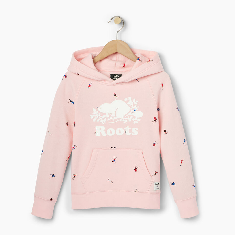 Roots-undefined-Girls Skater Kanga Hoody-undefined-A