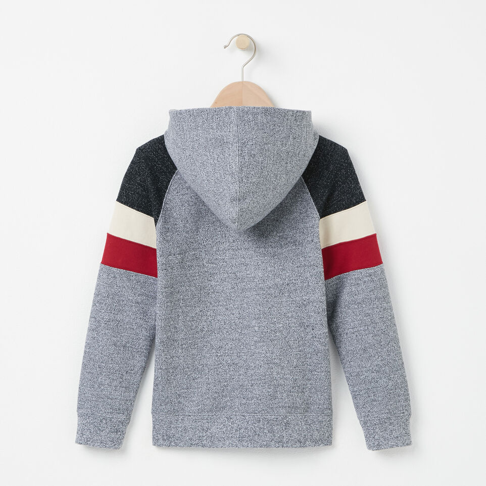 Roots-undefined-Boys Colour Block 1/2 Zip Hoody-undefined-B