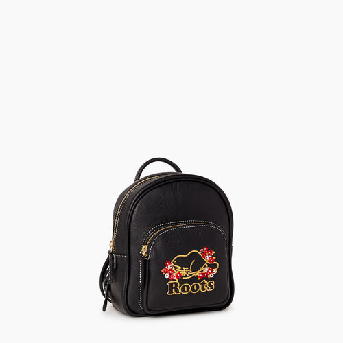 Roots-Sale Leather-Flower City Chelsea Pack-Black-A