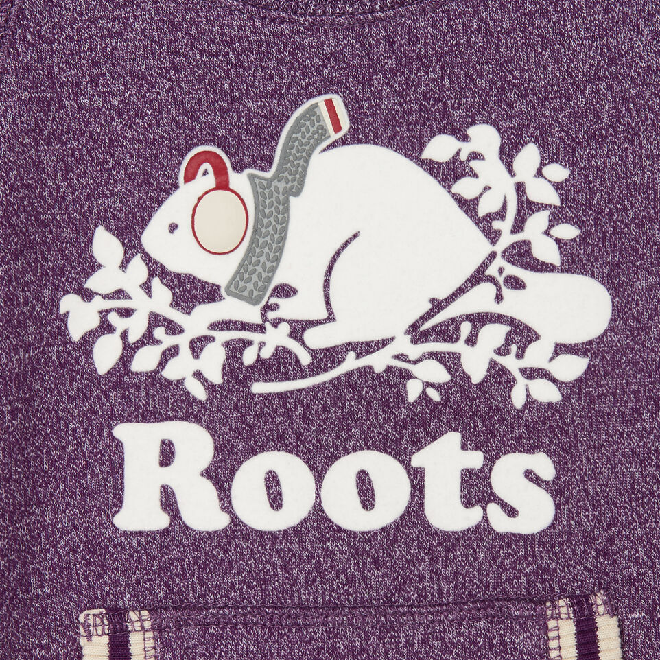 Roots-Sale Kids-Toddler Buddy Cozy Fleece Pullover-Grape Royale Pepper-C