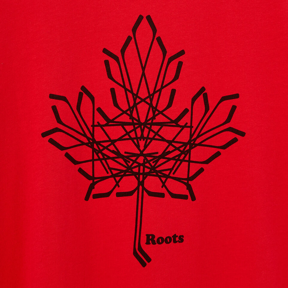 Roots-undefined-Womens Hockey Leaf T-shirt-undefined-D