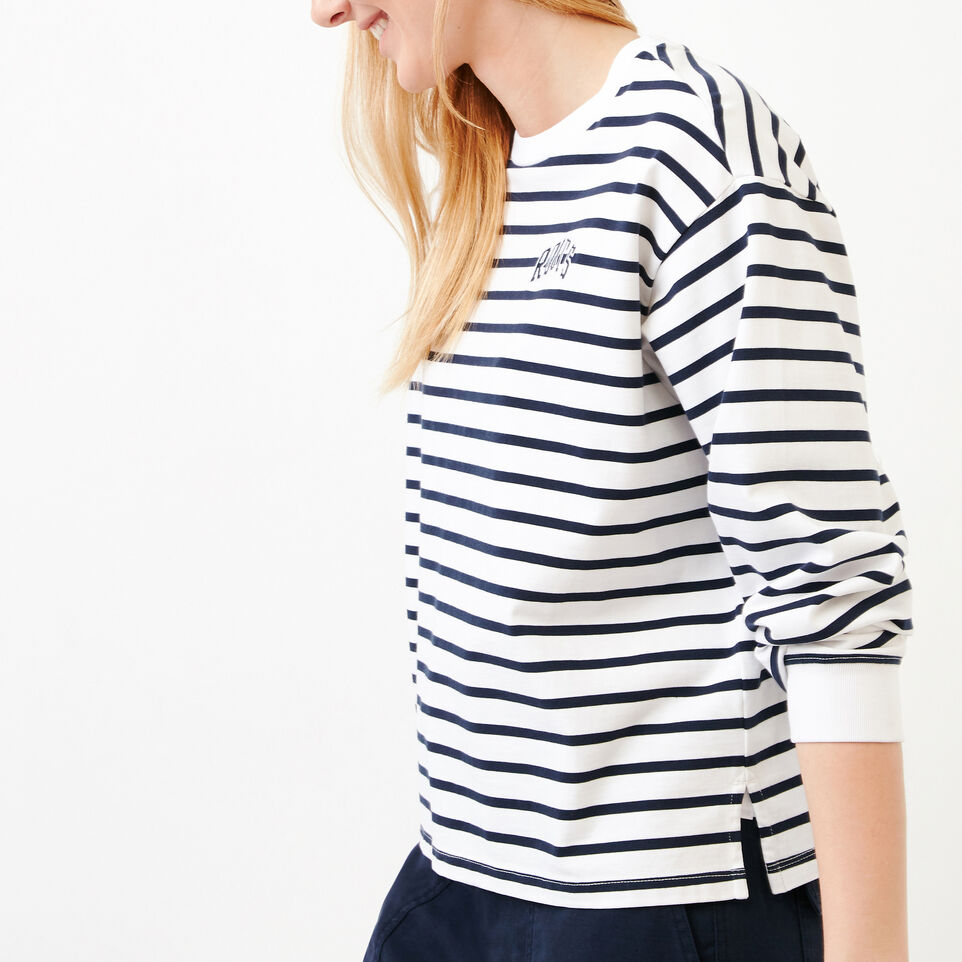 Roots-Women Our Favourite New Arrivals-Brookley Top-White-C