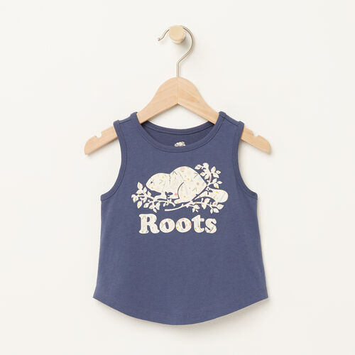 Roots-Kids Bestsellers-Baby Classic Cooper Tank-Force Blue-A