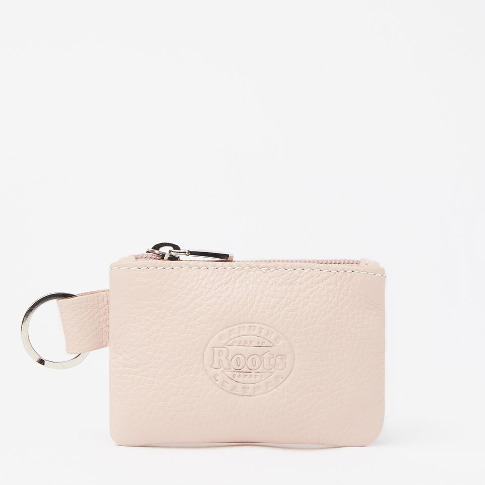 Roots-undefined-Top Zip Key Pouch Prince-undefined-C