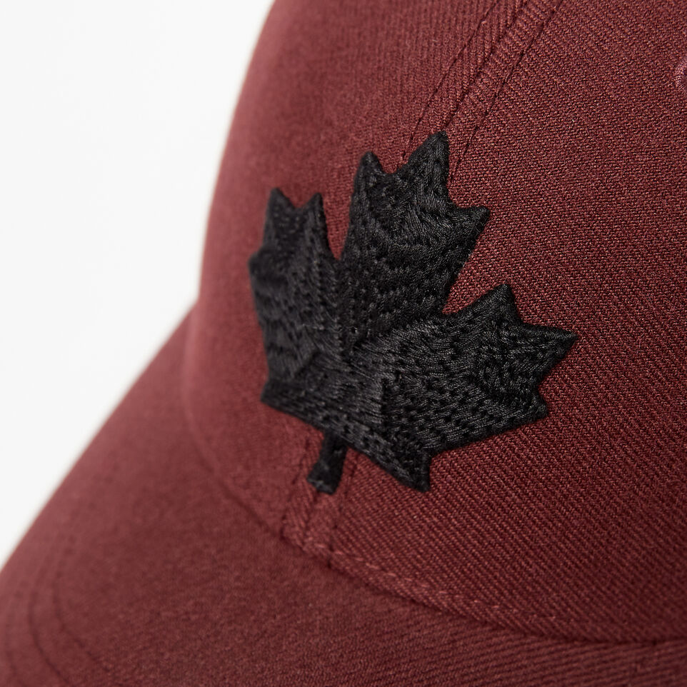 Roots-undefined-Mens Modern Leaf Baseball Cap-undefined-E