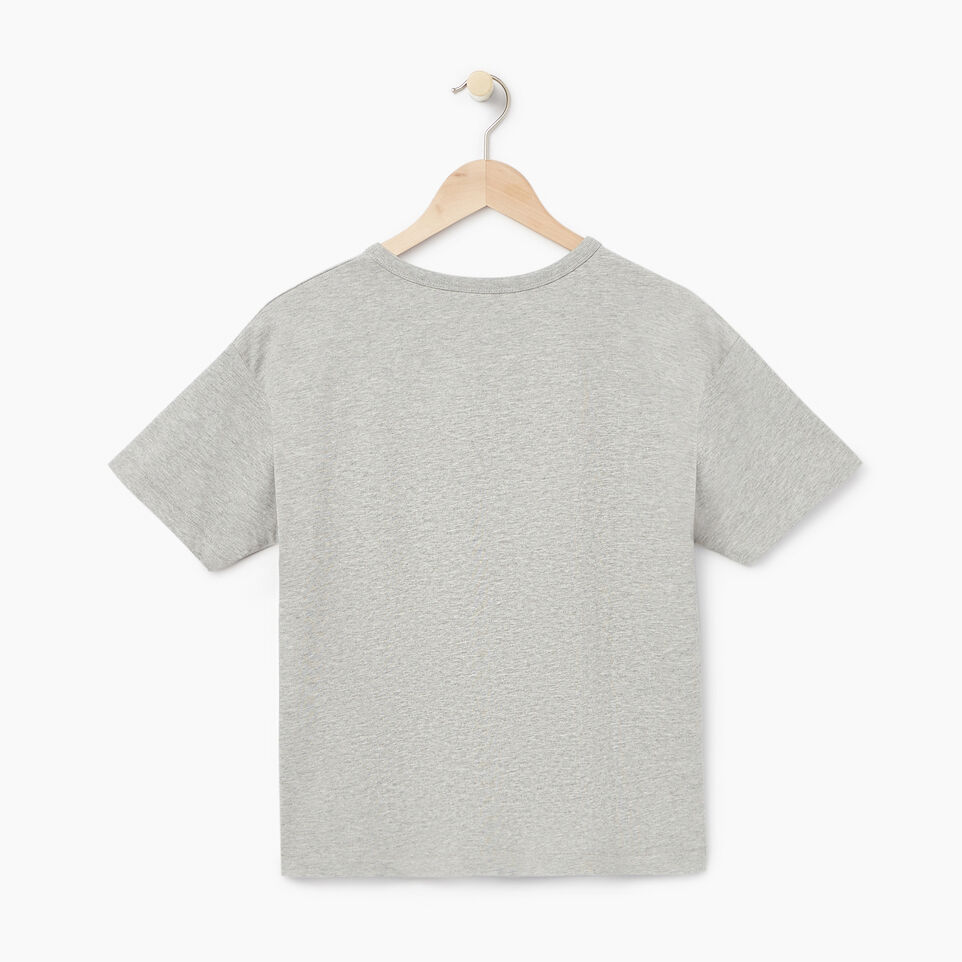 Roots-New For July Daily Offer-Womens Melfort T-shirt-Grey Mix-B