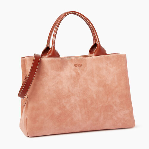 Roots-Leather Our Favourite New Arrivals-Mont Royal Bag-Canyon Rose/oak-A