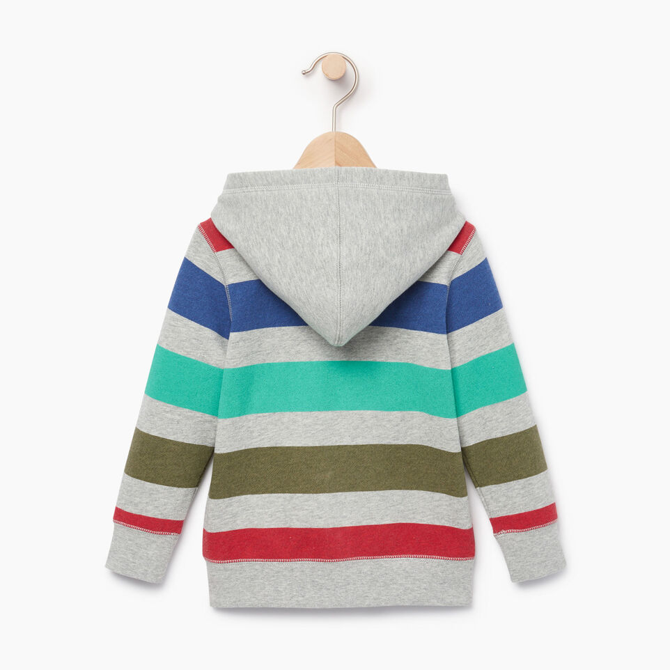 Roots-Kids Our Favourite New Arrivals-Toddler Ombre Stripe Full Zip Hoody-Grey Mix-B