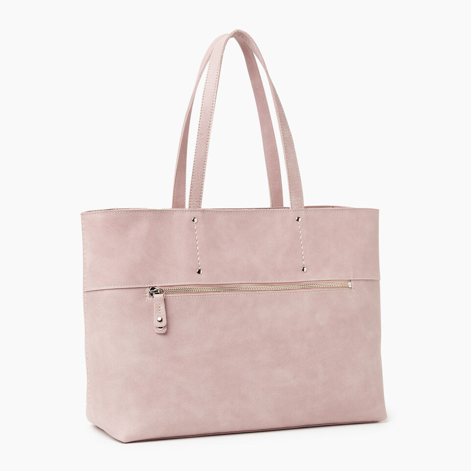 Roots-Leather New Arrivals-Westmount Tote Tribe-Woodrose-A