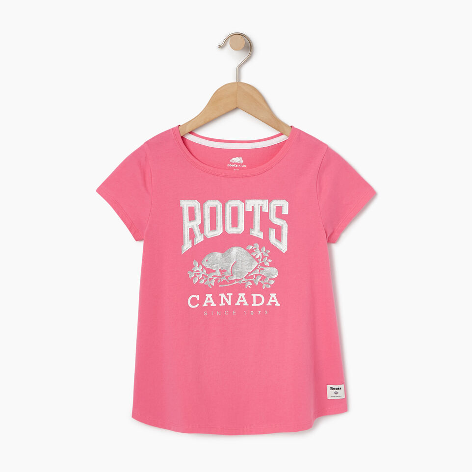 Roots-undefined-T-Shirt Swing pour filles-undefined-A