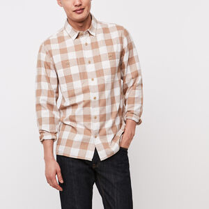 Roots-New For March Men-Battleford Shirt-Khaki-A