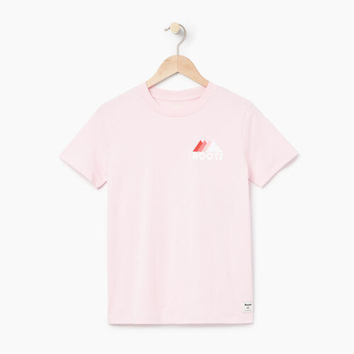 Roots-Women Our Favourite New Arrivals-Womens Gaspe T-shirt-Pink Mist-A
