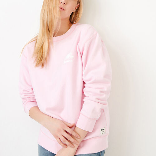 Roots-New For March Sweats-Boyfriend Crew Sweatshirt-Pink Mist-A