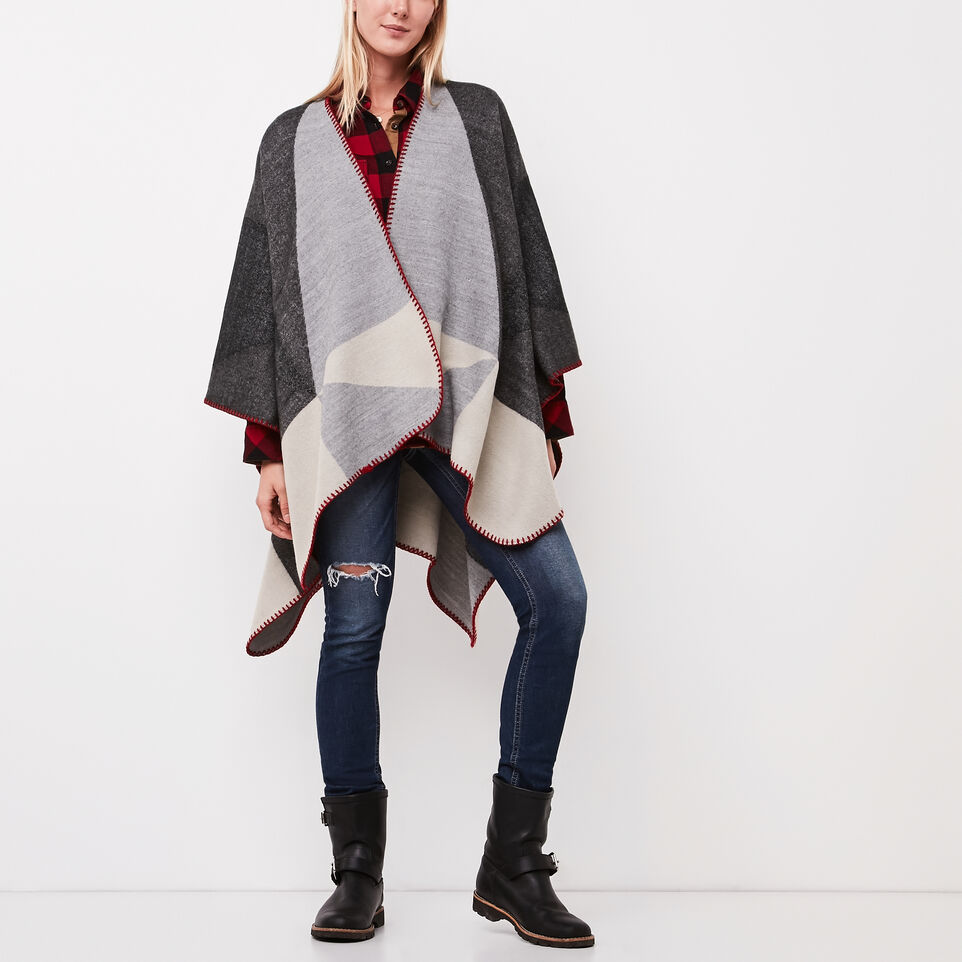 Roots-undefined-Loren Blanket Wrap-undefined-A ... 0350f82ff