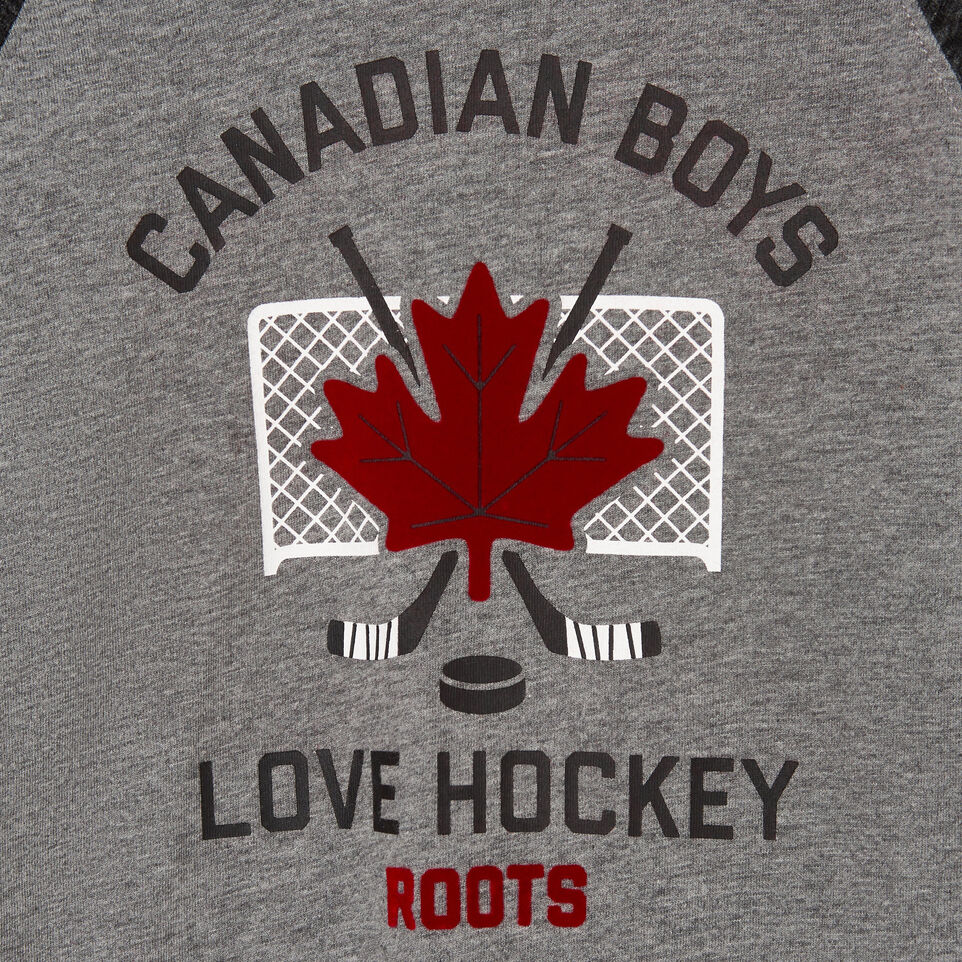 Roots-undefined-Toddler Boys Love Hockey T-shirt-undefined-C