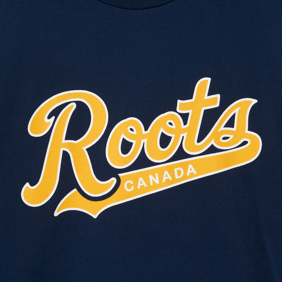 Roots-undefined-Mens Roots Script T-shirt-undefined-D