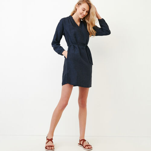 Roots-Women Our Favourite New Arrivals-Camrose Dress-Indigo-A